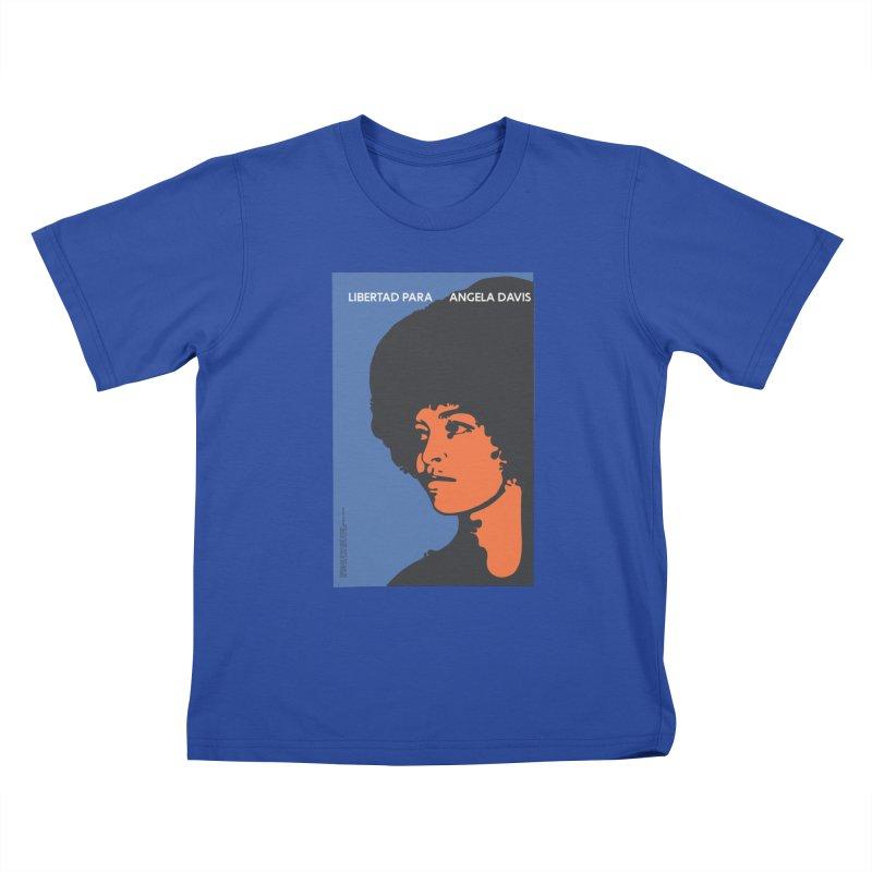 History Art Collective no.003: Libertad Para Angela Davis Kids T-shirt by Mister Earl Grey