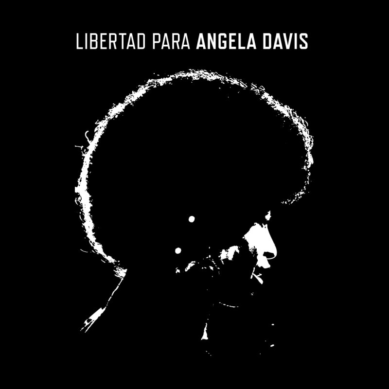 History Art Collective no.004: Libertad Para Angela Davis Women's Racerback Tank by Mister Earl Grey