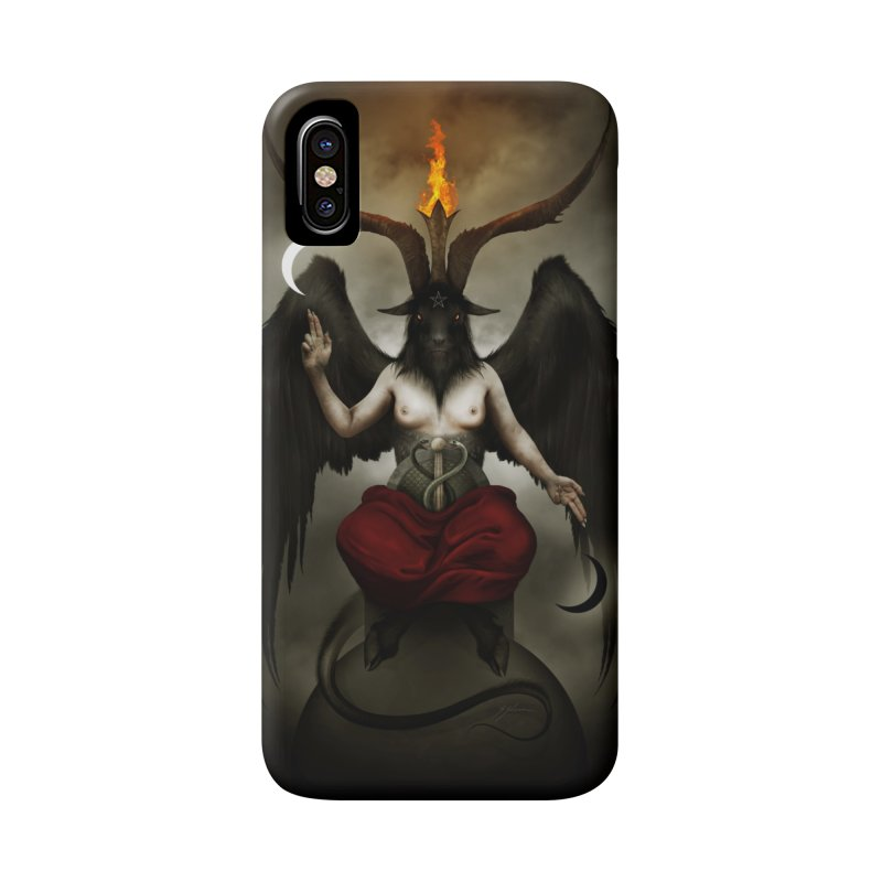 BAPHOMET in iPhone X / XS Phone Case Slim by