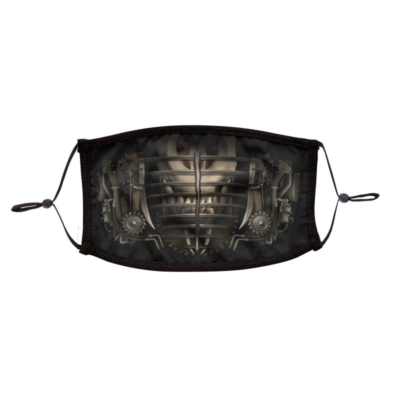 JACKAL JAWS Accessories Face Mask by The Dark Arts of Mister Sam Shearon