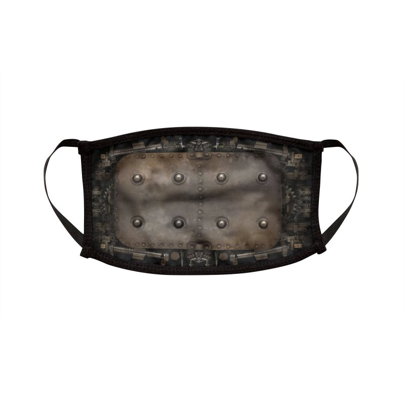 BUNKER BREATH Accessories Face Mask by The Dark Arts of Mister Sam Shearon
