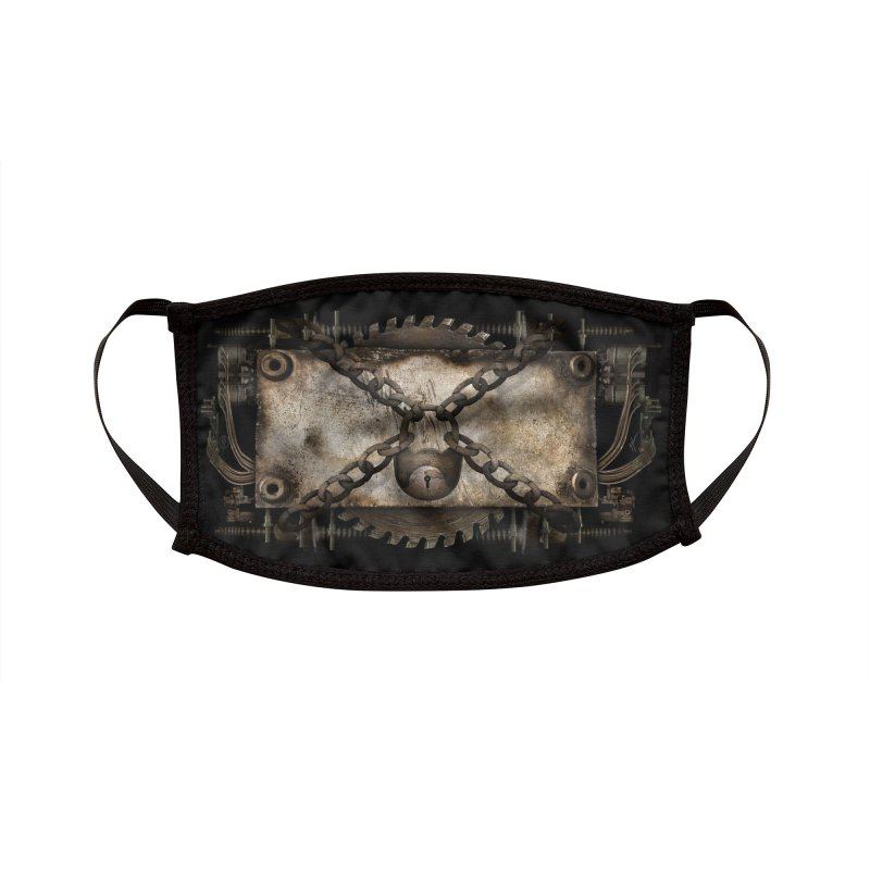 LOCK JAW Accessories Face Mask by The Dark Arts of Mister Sam Shearon