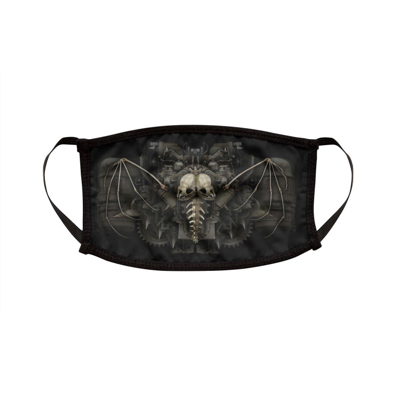 BAT BREATH Accessories Face Mask by The Dark Arts of Mister Sam Shearon
