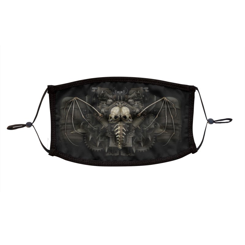 BAT BREATH Accessories Face Mask by The Dark Arts of Mister Sam Shearon