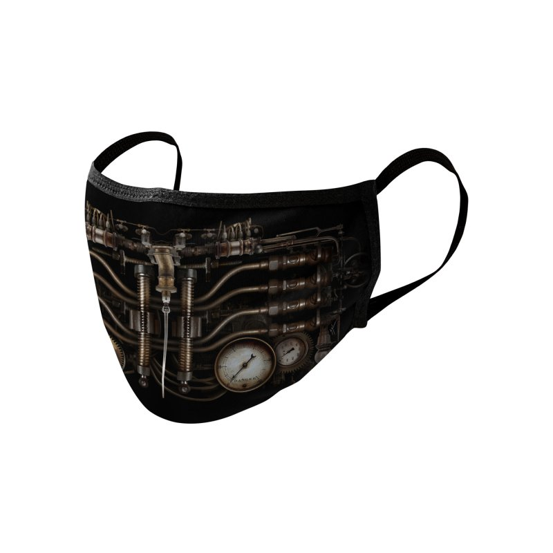 MECH-SQUITO Accessories Face Mask by The Dark Arts of Mister Sam Shearon