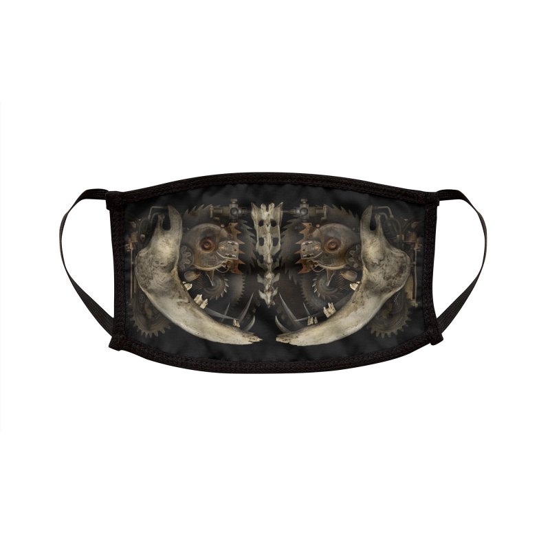 SAW JAW Accessories Face Mask by The Dark Arts of Mister Sam Shearon