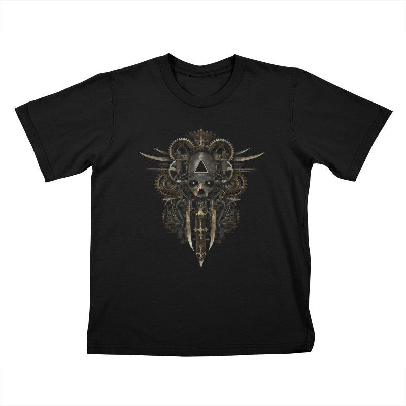 GOATSUCKER Kids T-Shirt by The Dark Arts of Mister Sam Shearon