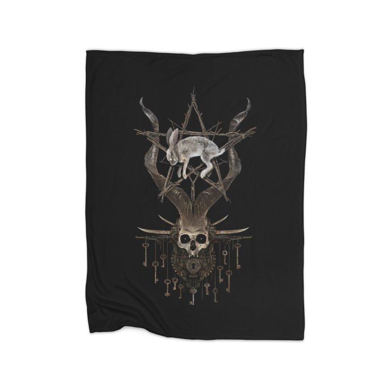 Key to the season Home Blanket by The Dark Arts of Mister Sam Shearon