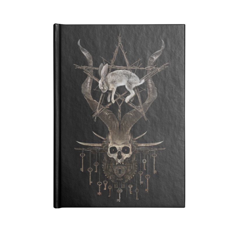 Key to the season Accessories Notebook by The Dark Arts of Mister Sam Shearon