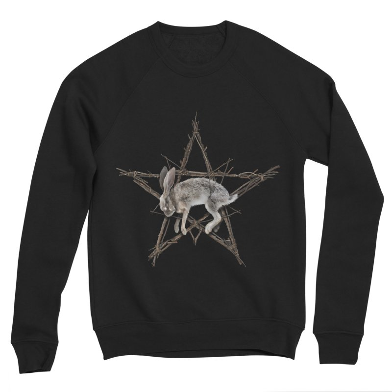 THE WICKER BUNNY Men's Sweatshirt by The Dark Arts of Mister Sam Shearon