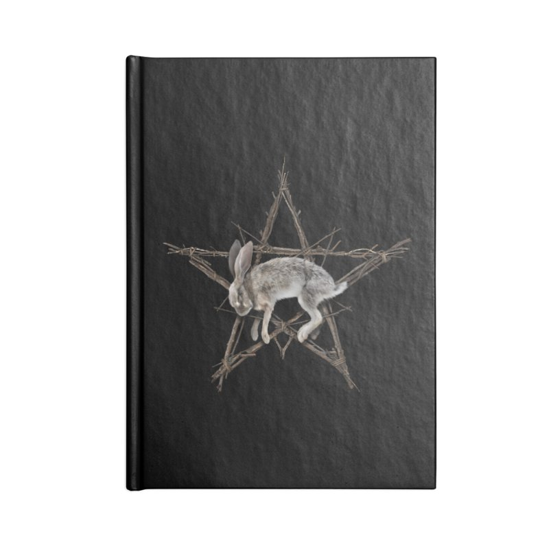 THE WICKER BUNNY Accessories Notebook by The Dark Arts of Mister Sam Shearon