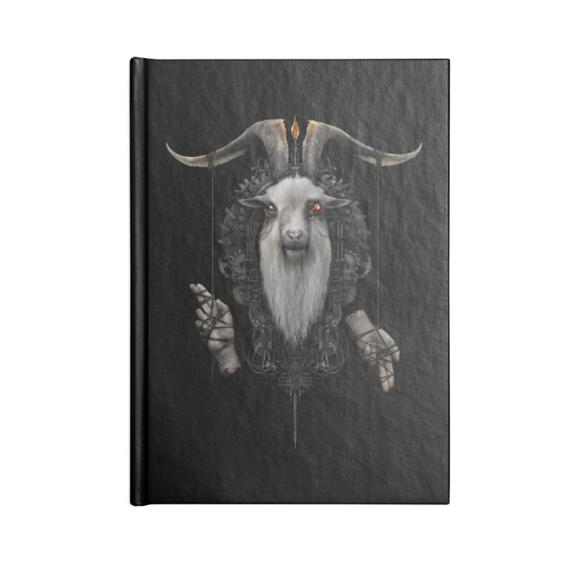 BAPHOMECH Accessories Notebook by The Dark Arts of Mister Sam Shearon
