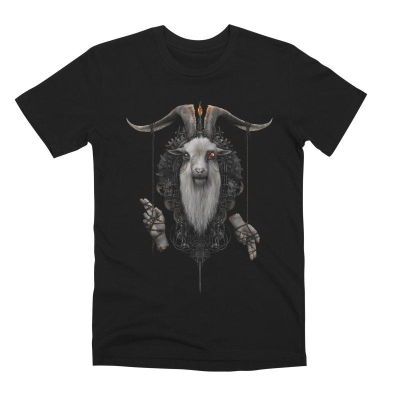 BAPHOMECH Men's T-Shirt by The Dark Arts of Mister Sam Shearon