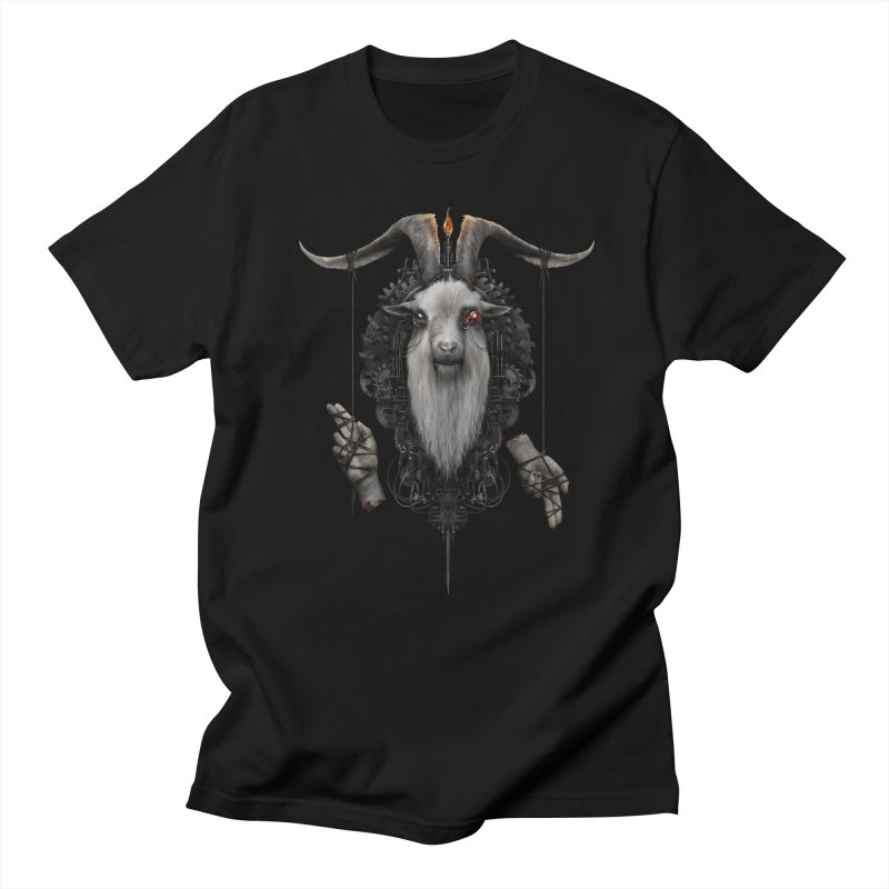 BAPHOMECH Men's T-Shirt by The Dark Arts of Mister Sam Shearon