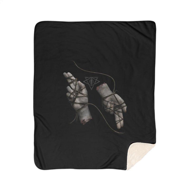 BAPHO-MECH-HANDS Home Blanket by The Dark Arts of Mister Sam Shearon
