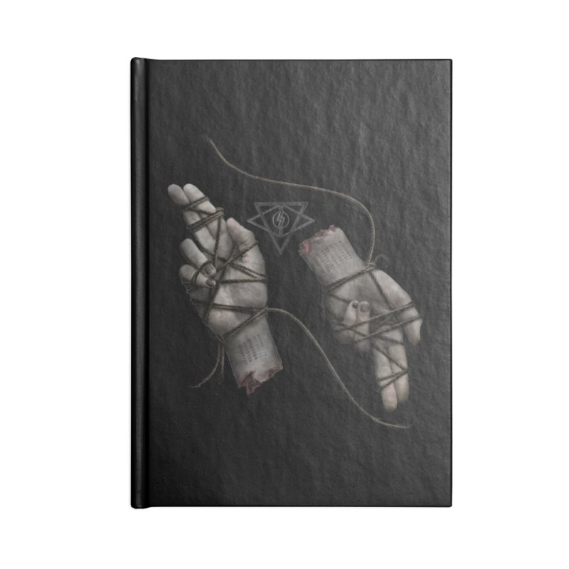 BAPHO-MECH-HANDS Accessories Notebook by The Dark Arts of Mister Sam Shearon