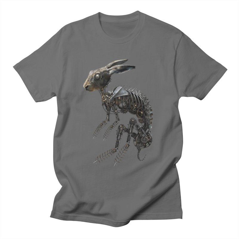 SPRING HARE Men's T-Shirt by The Dark Arts of Mister Sam Shearon