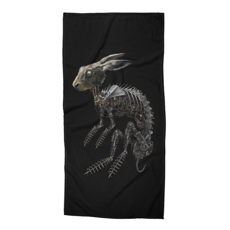 SPRING HARE in Beach Towel by