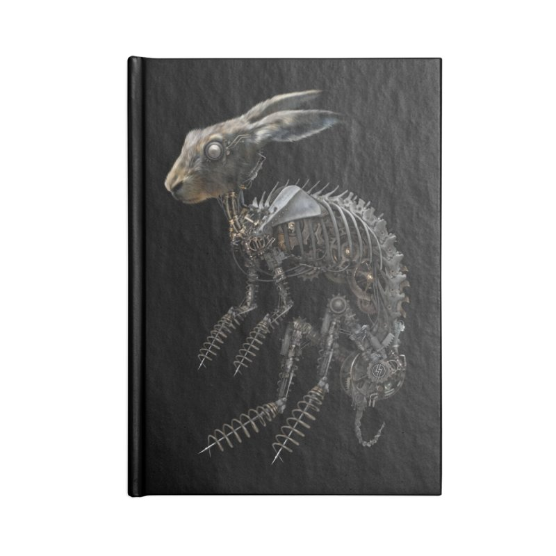 SPRING HARE Accessories Notebook by The Dark Arts of Mister Sam Shearon