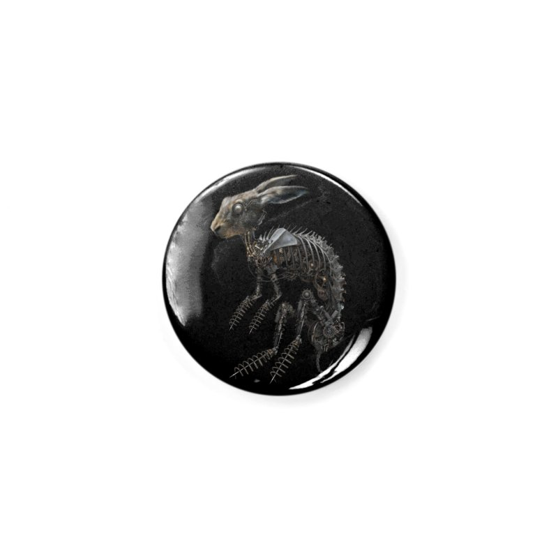 SPRING HARE Accessories Button by The Dark Arts of Mister Sam Shearon