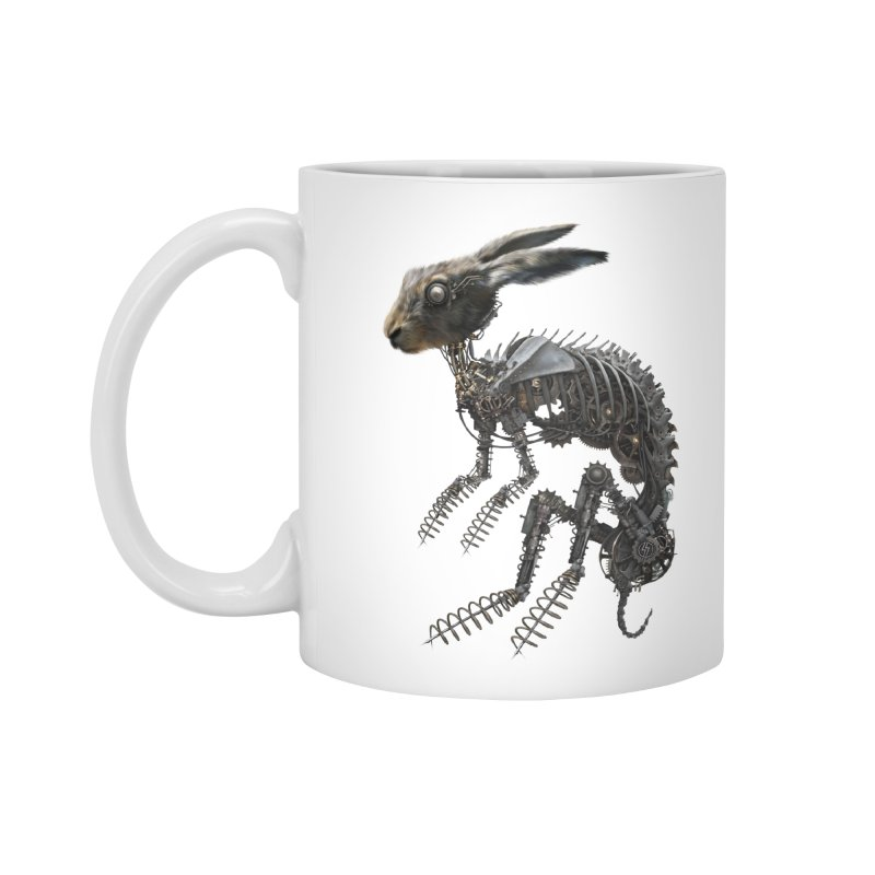 SPRING HARE in Standard Mug White by