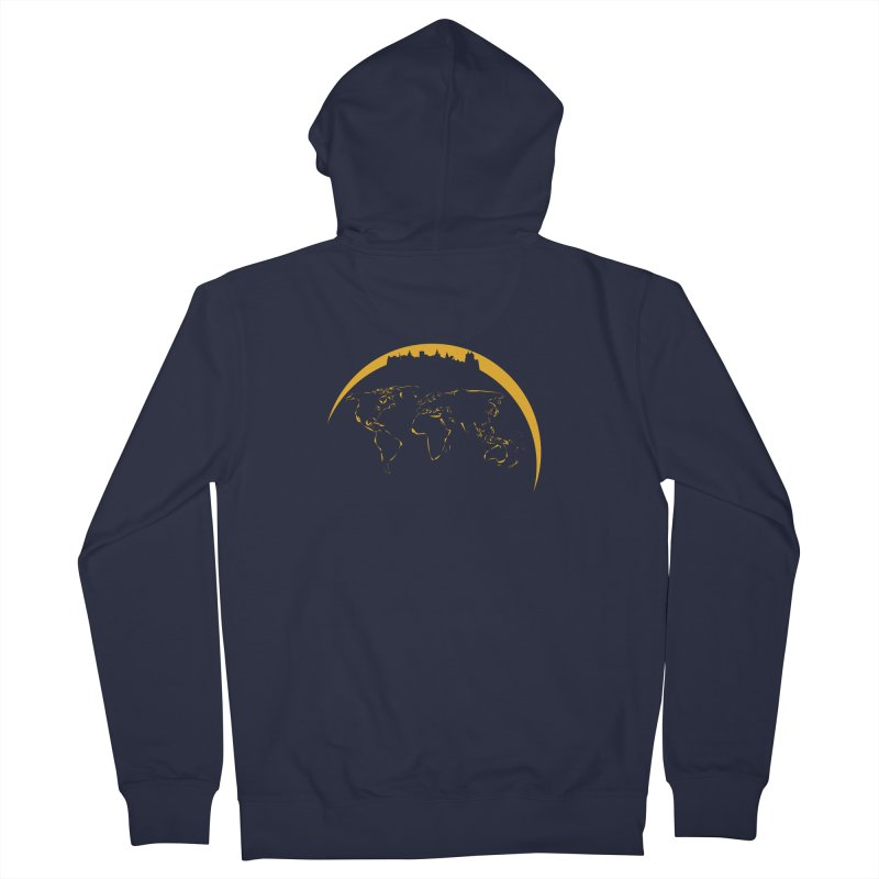 World Skyline Women's Zip-Up Hoody by Mişto Design Shop