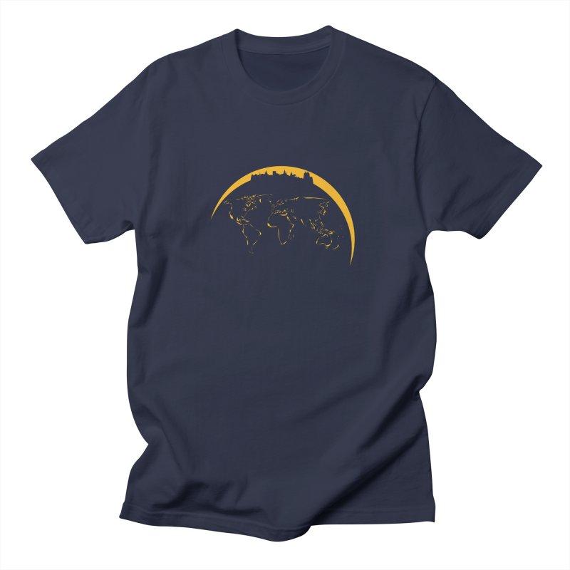 World Skyline Men's T-shirt by Mişto Design Shop