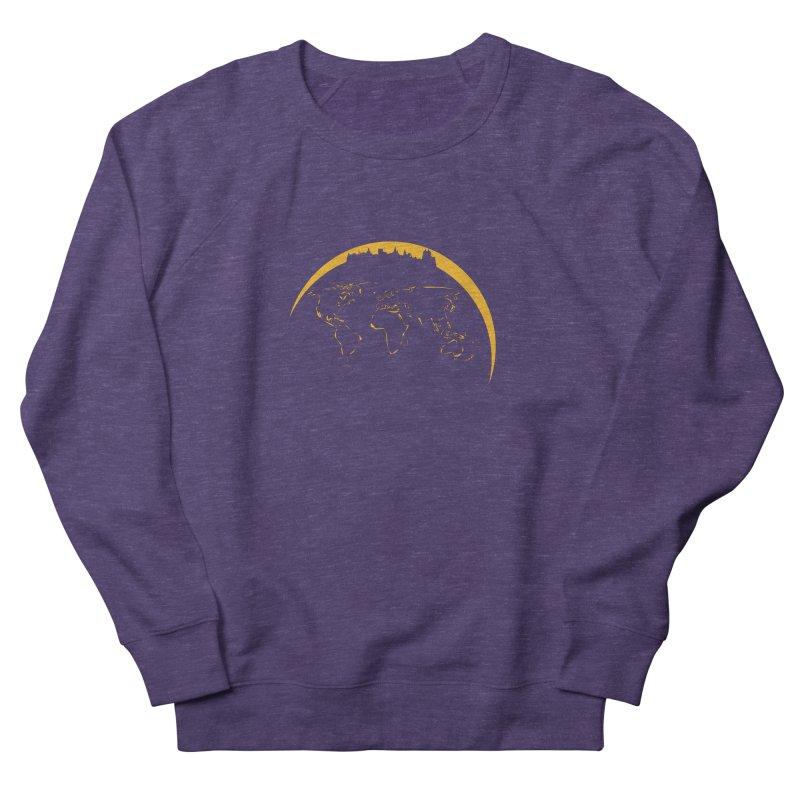 World Skyline Women's Sweatshirt by Mişto Design Shop