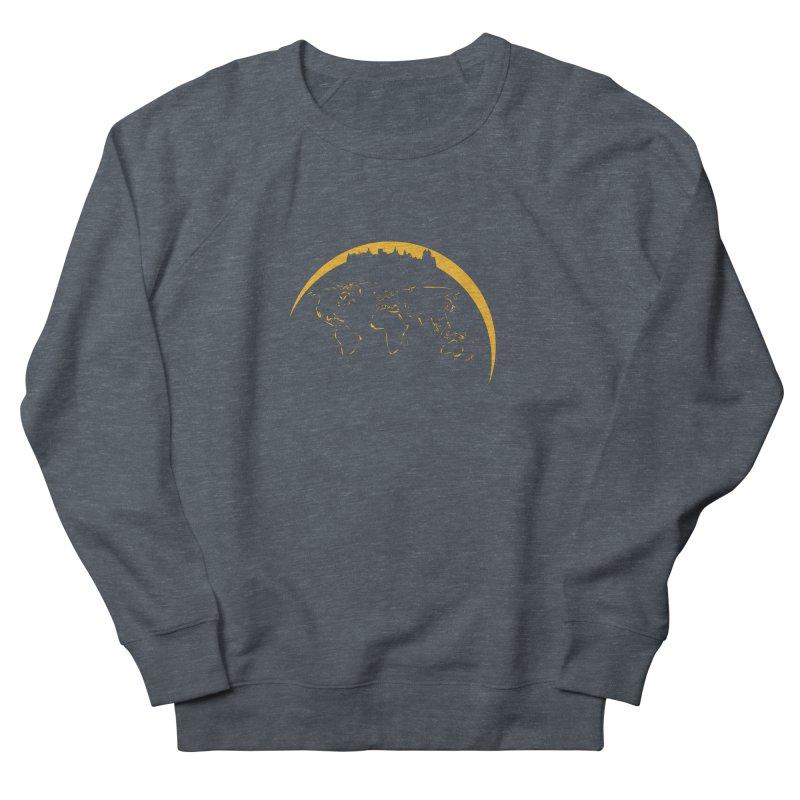 World Skyline Men's Sweatshirt by Mişto Design Shop