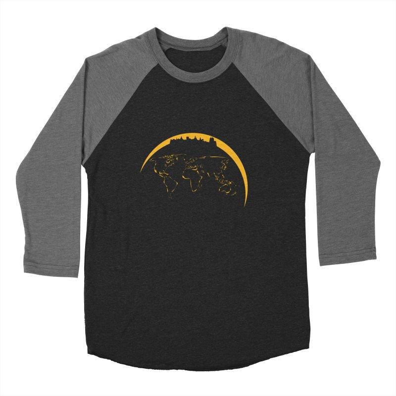 World Skyline Women's Baseball Triblend T-Shirt by Mişto Design Shop