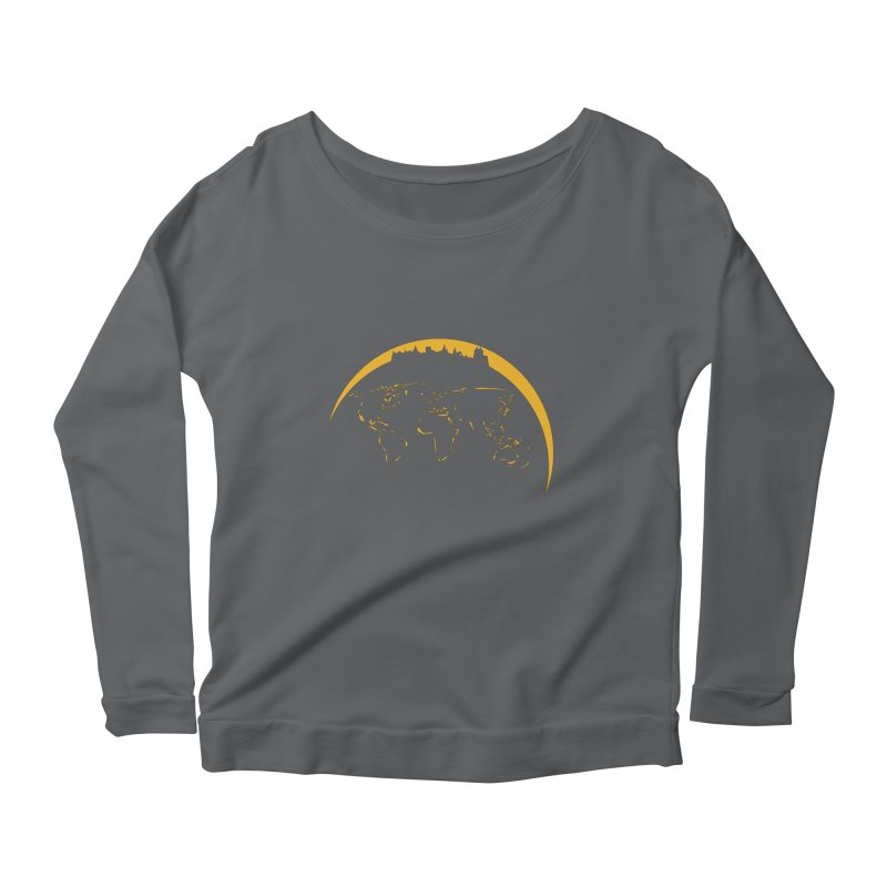 World Skyline Women's Longsleeve T-Shirt by Mişto Design Shop