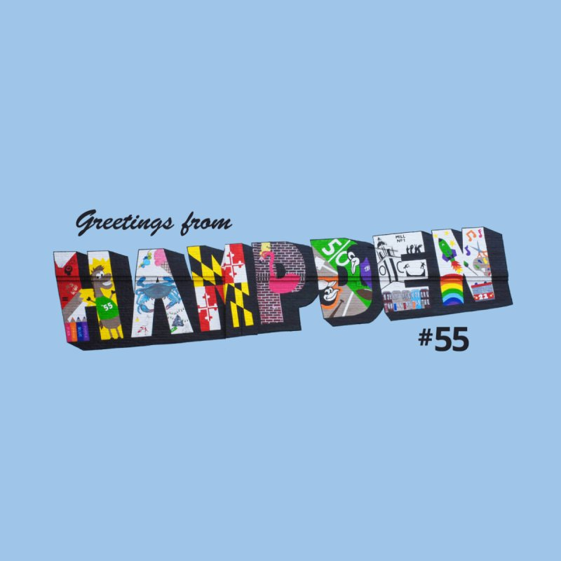 Hampden 55 Men's T-Shirt by FOH55