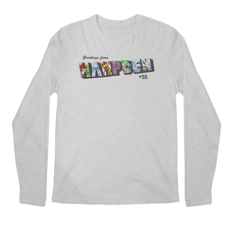 Hampden 55 Men's Longsleeve T-Shirt by FOH55
