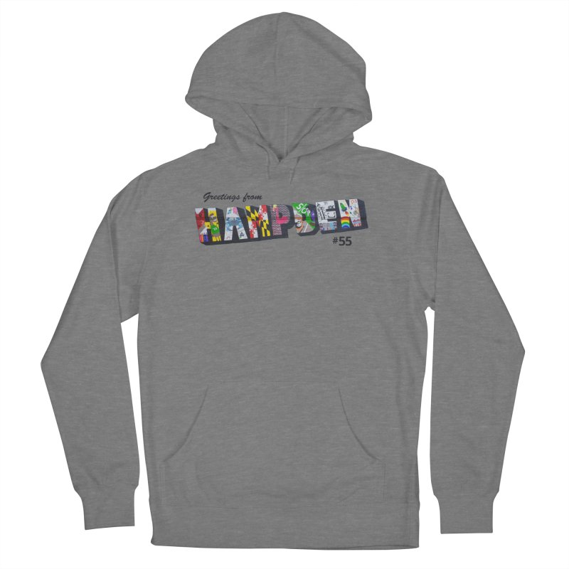 Hampden 55 Women's French Terry Pullover Hoody by FOH55
