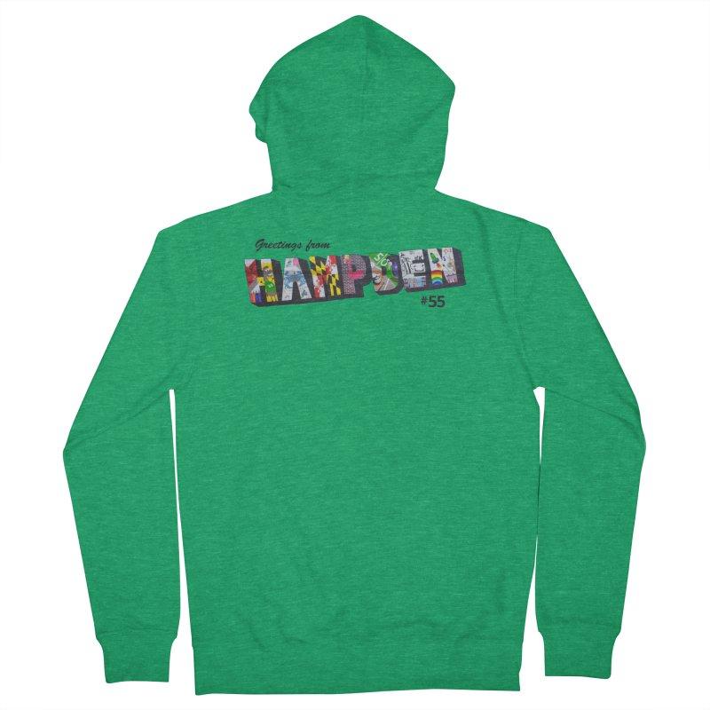 Hampden 55 Women's Zip-Up Hoody by FOH55
