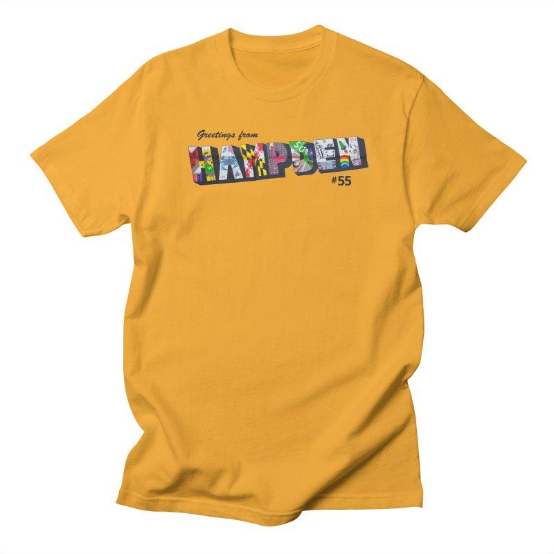 Hampden 55 Men's Regular T-Shirt by FOH55