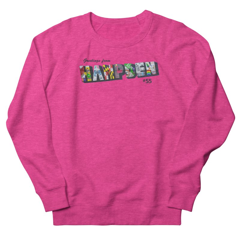 Hampden 55 Women's French Terry Sweatshirt by FOH55