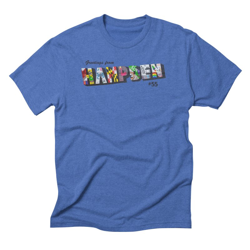 Hampden 55 Men's Triblend T-Shirt by FOH55