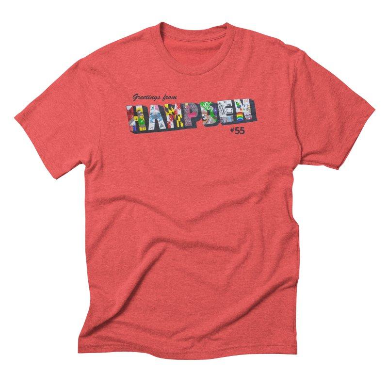 Hampden 55 Men's Triblend T-Shirt by FOH55