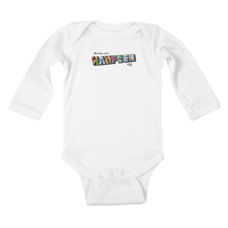 Hampden 55 Kids Baby Longsleeve Bodysuit by FOH55
