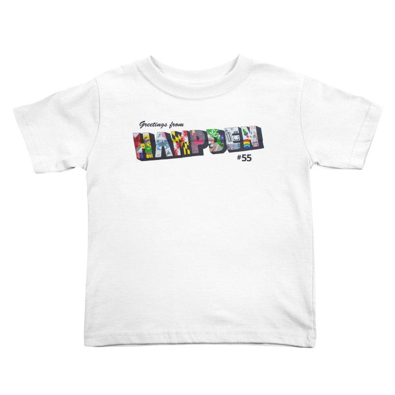 Hampden 55 Kids Toddler T-Shirt by FOH55