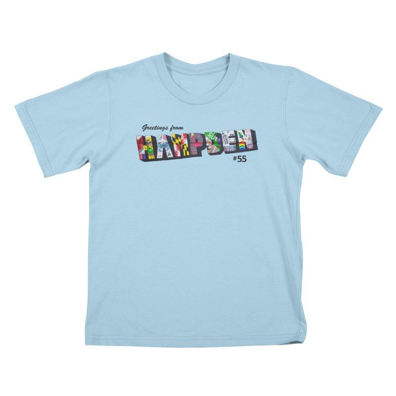Hampden 55 Kids T-Shirt by FOH55