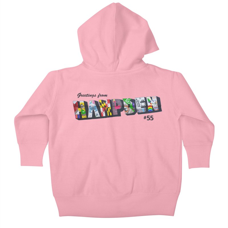 Hampden 55 Kids Baby Zip-Up Hoody by FOH55