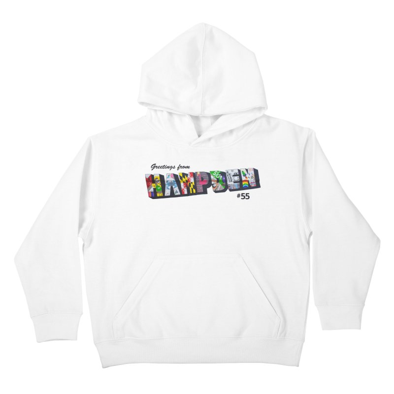 Hampden 55 Kids Pullover Hoody by FOH55