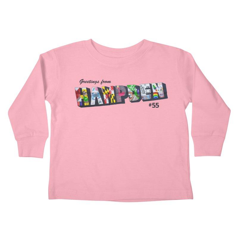 Hampden 55 Kids Toddler Longsleeve T-Shirt by FOH55