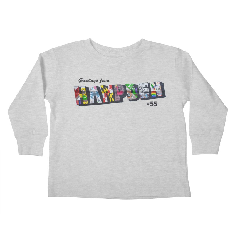 Hampden 55 Kids Toddler Longsleeve T-Shirt by FOH55