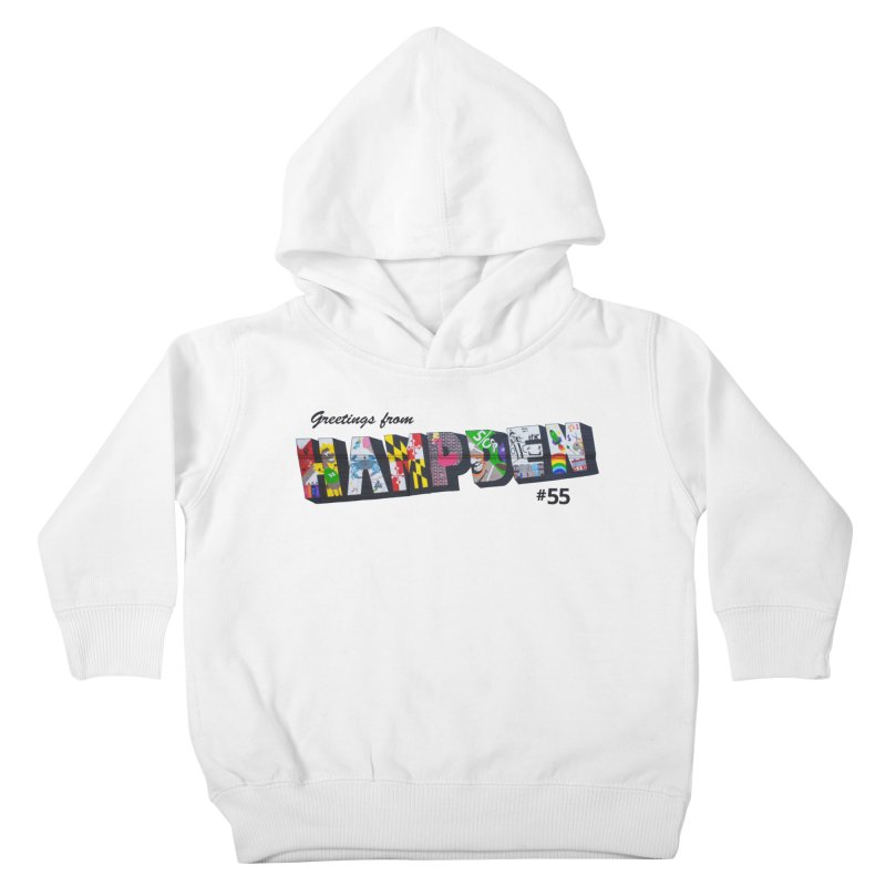 Hampden 55 Kids Toddler Pullover Hoody by FOH55