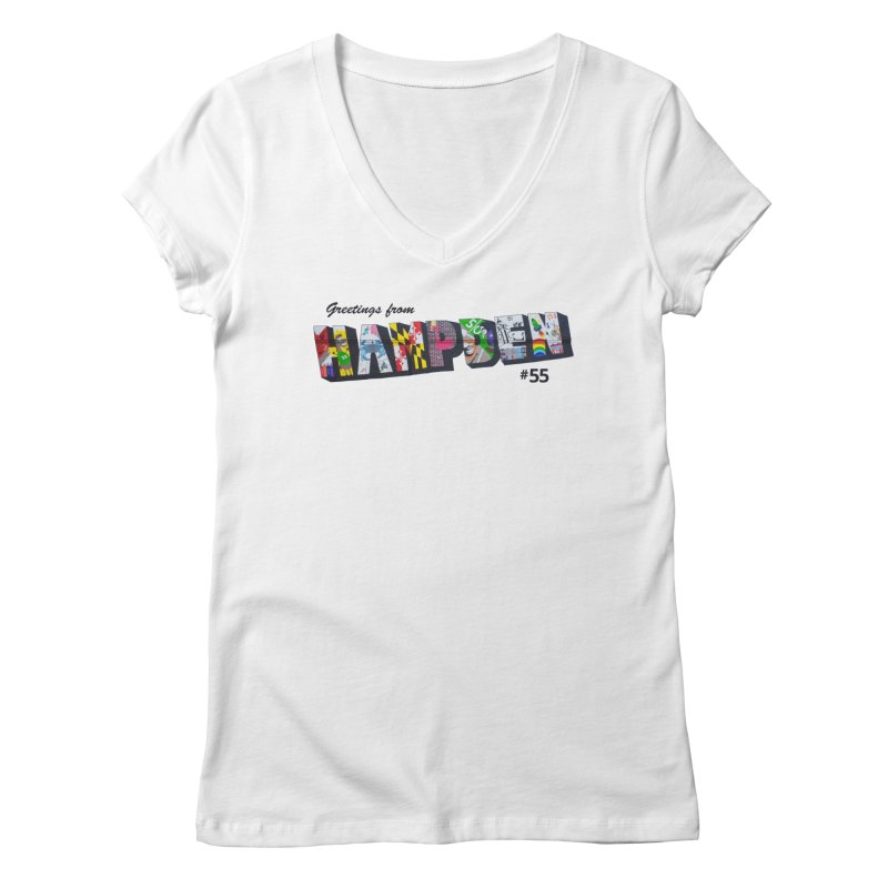 Hampden 55 Women's Regular V-Neck by FOH55
