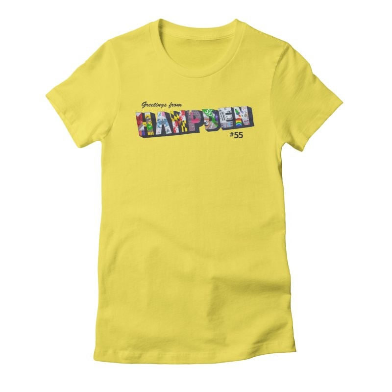 Hampden 55 Women's T-Shirt by FOH55