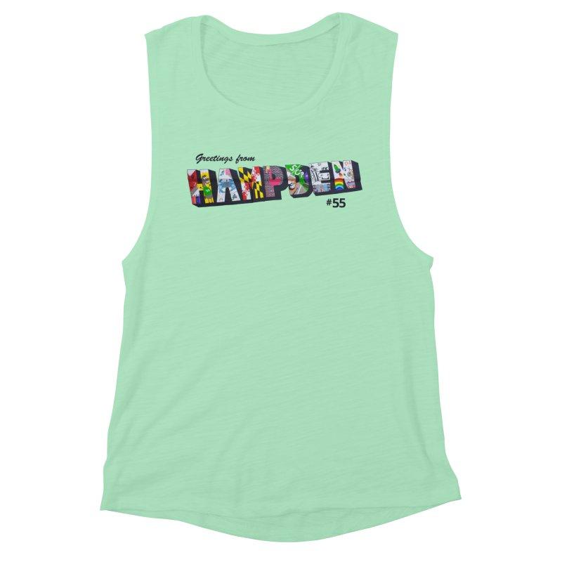 Hampden 55 Women's Muscle Tank by FOH55
